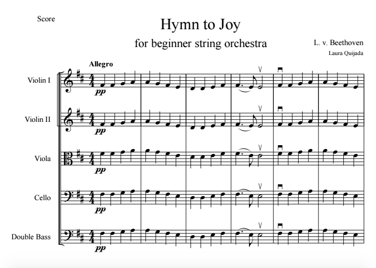 hymn to joy screen shot